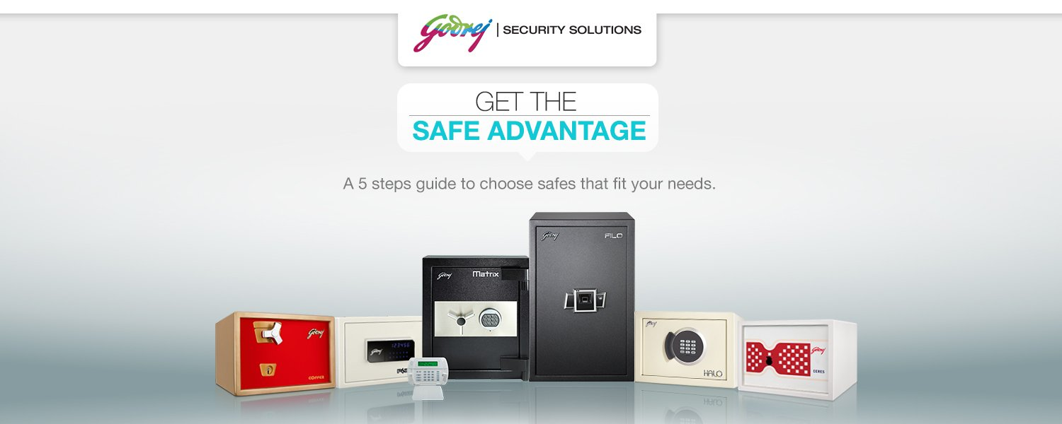 Godrej Safes buying guide