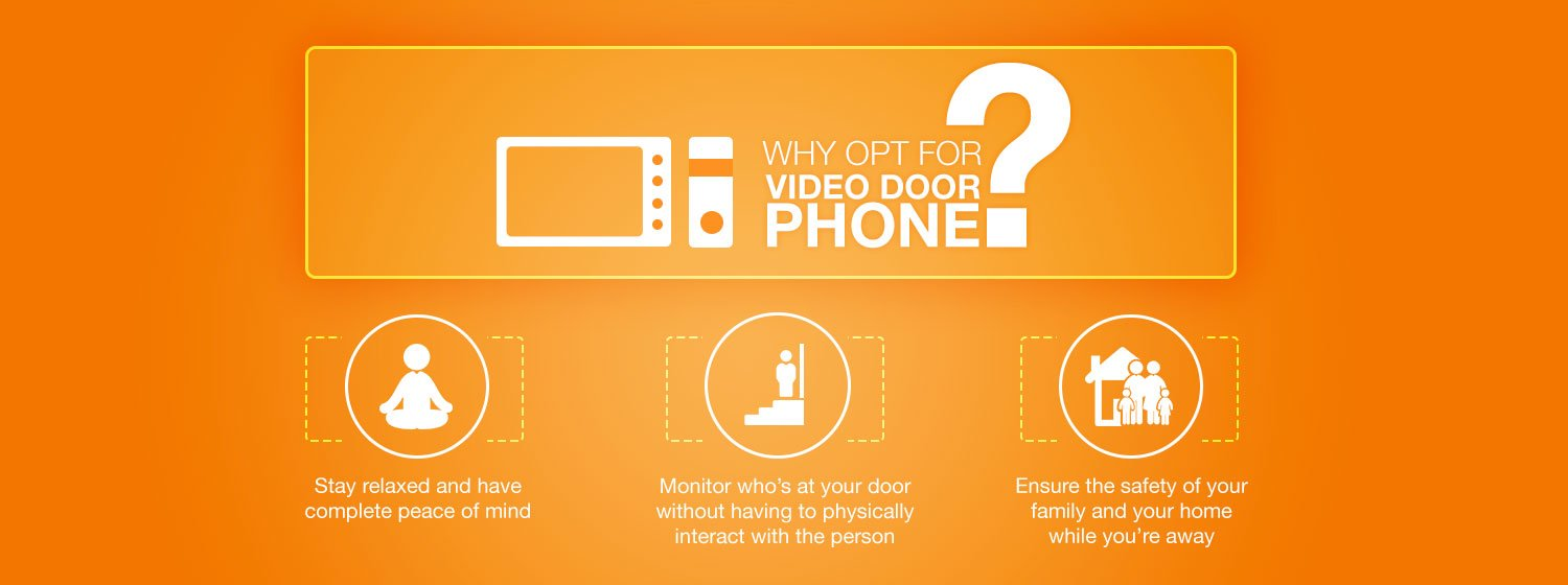 Why opt for a Video Door Phone?