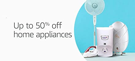 Upto 50 off: Home appliances