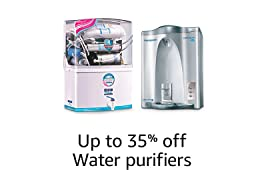 Up to 35% off: Water purifiers