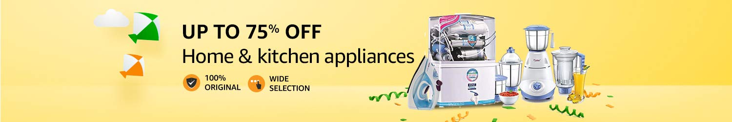 up to 75% of kitchen & home