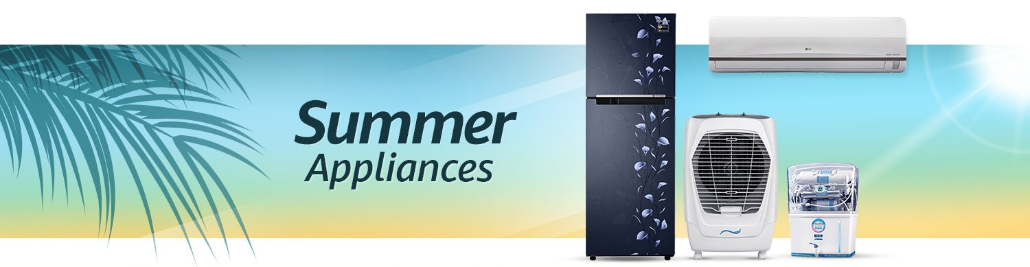 summer appliances