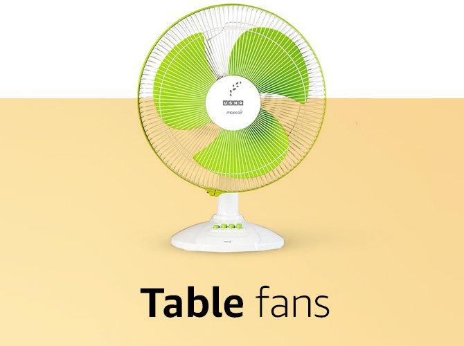Table Fans