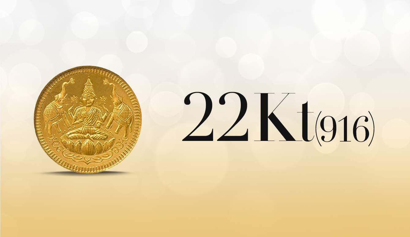 Gold coin 22k 999