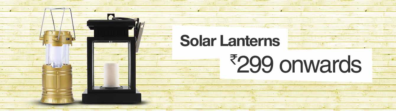 Solar Lanterns Rs. 299 onwards
