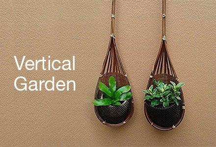 garden plant pots for sale. buy now with our wide selection of vertical garden planters, terrariums, ceramic handing desk plastic pots and more to help plant for sale