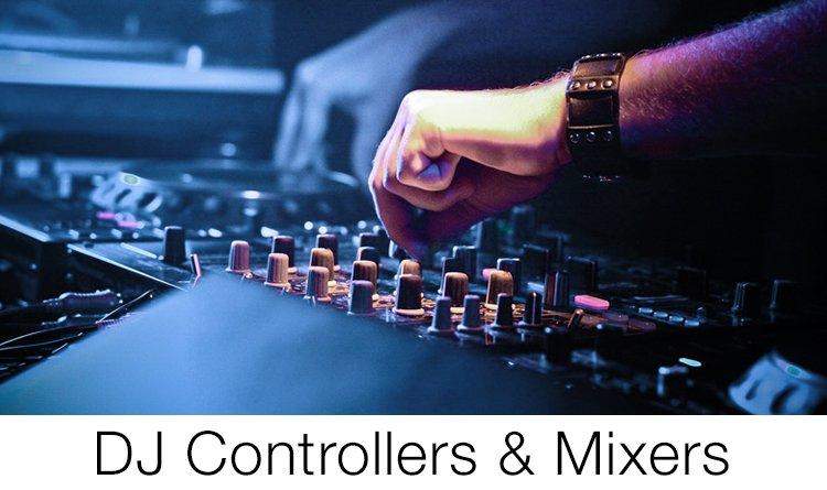 DJ controllers & Mixers