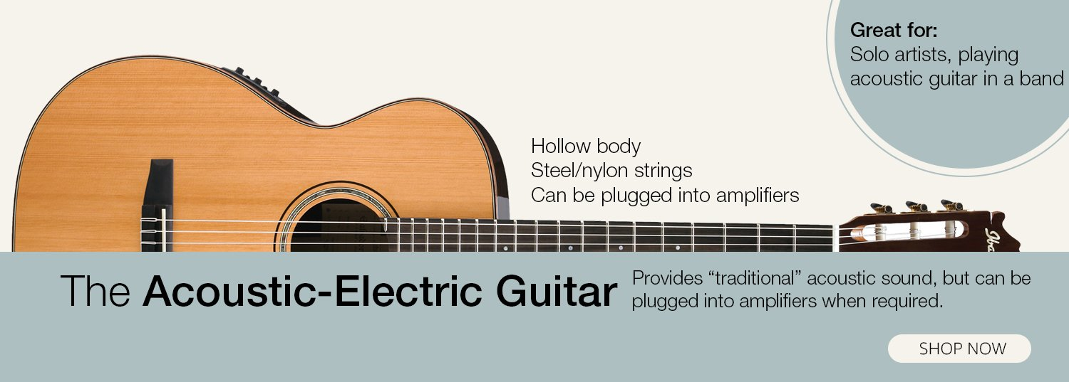 The Acoustic-Electric Guitar