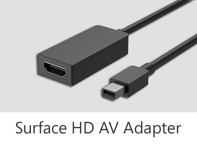 Surface HD Av Adapter