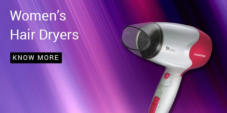 syska hair dryers