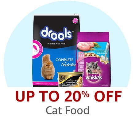 Up to 20% off: Cat Food