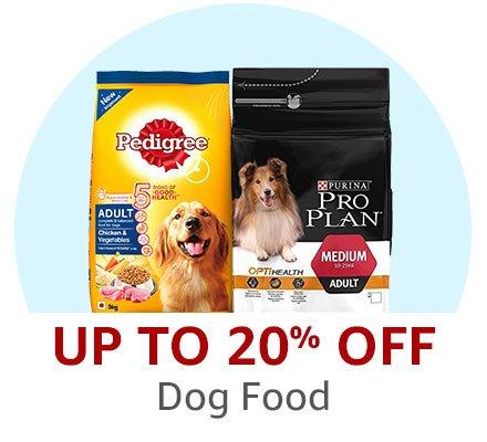 20% off Dog Food