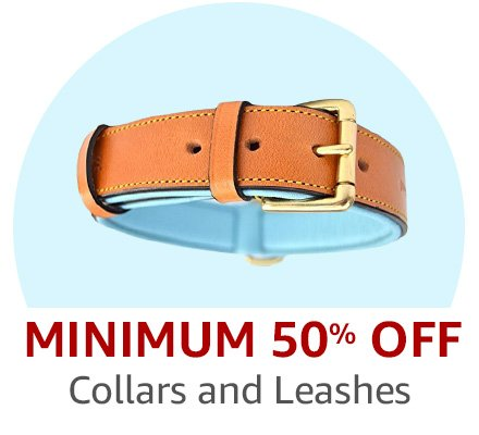 Up to 50% off collars and leashes