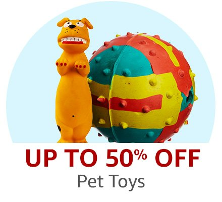 Up to 50% off Dog Toys