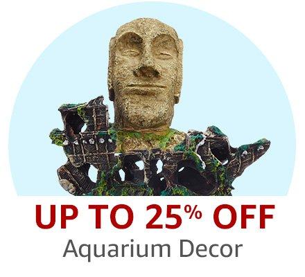 20% off or more on Aquarium