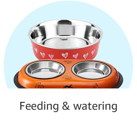Feeding and watering bowls