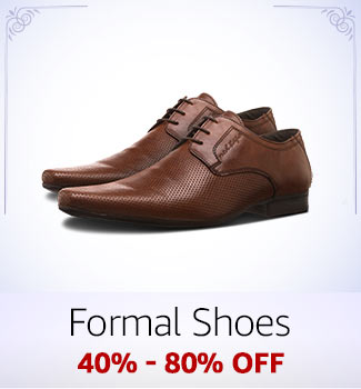 Formal Shoes: 40%-80% off