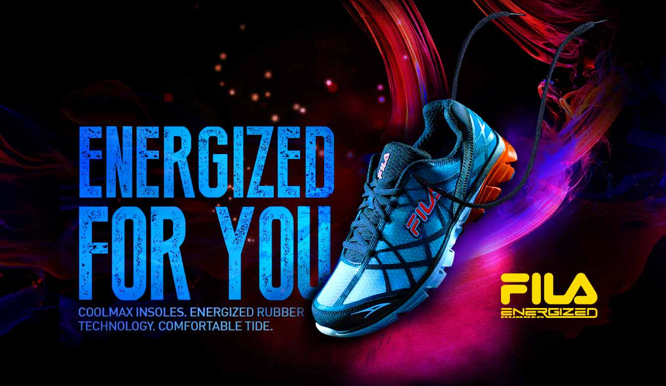 14fe9bb201e97 Fila Energized. Men s Shoes. Women s Shoes. Running Shoes. Sneakers    Canvas. Sandals