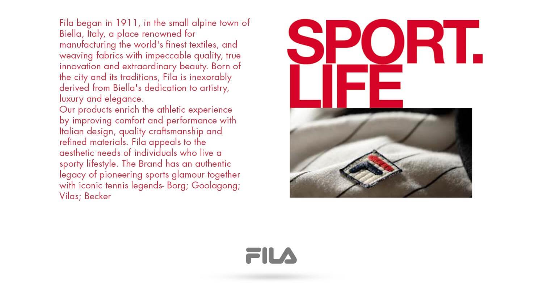 About Fila