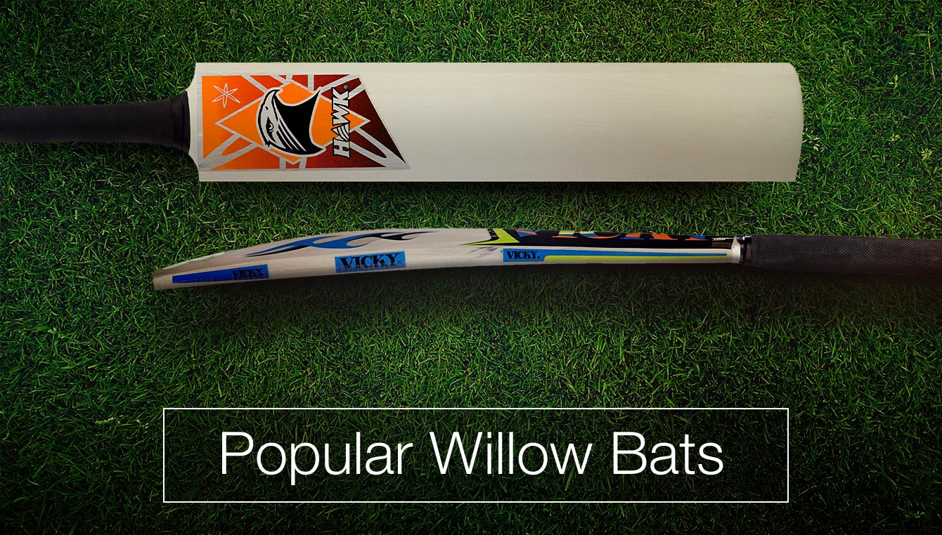 Popular Willow Bats