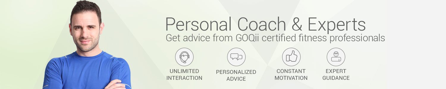GoQii -  Personal coach and experts