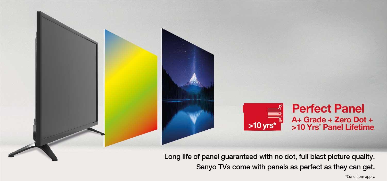 Perfect panel - Sanyo TVs