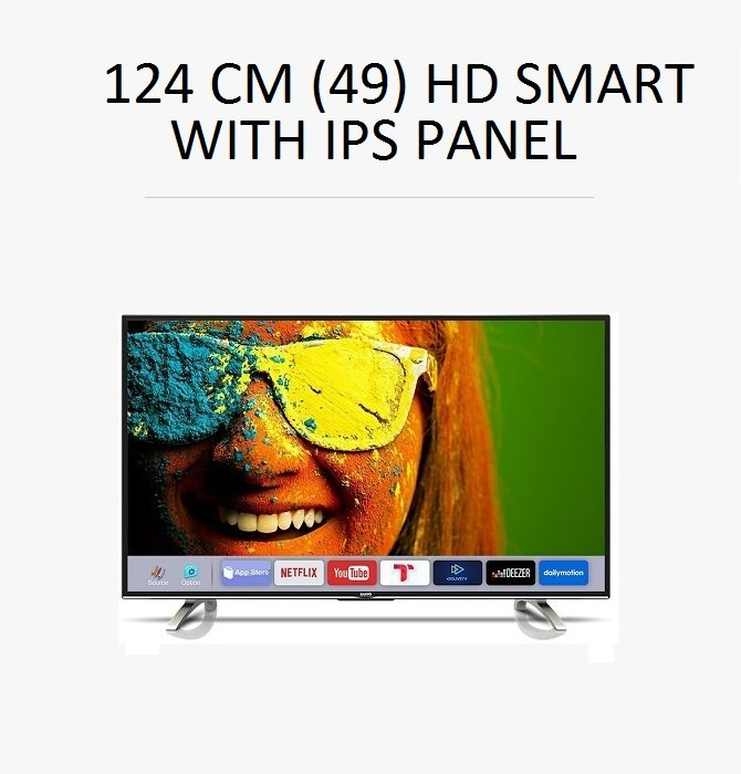 124 cm (49) HD Smart
