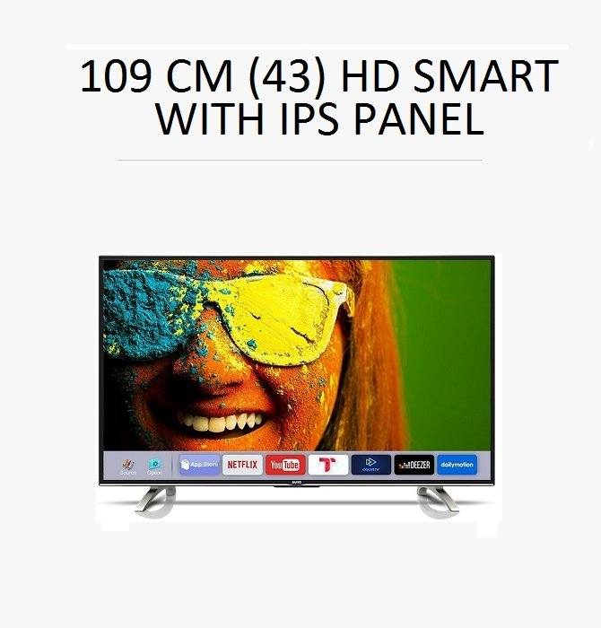 Sanyo 109cm (43) HD SMART TV