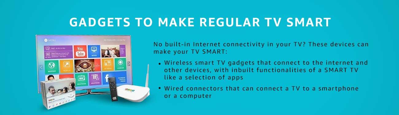Smart TV gadgets