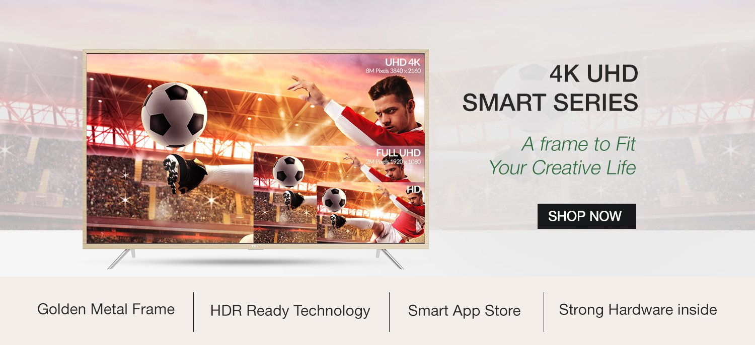 4k Ultra HD Smart Series