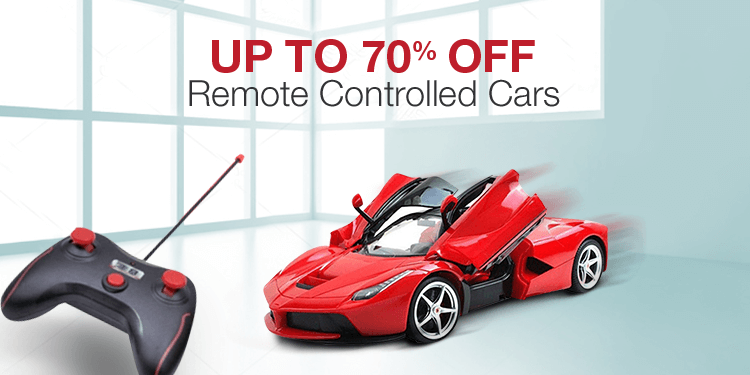 Up to 70% off: Remote control toys