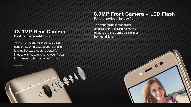 13MP camera
