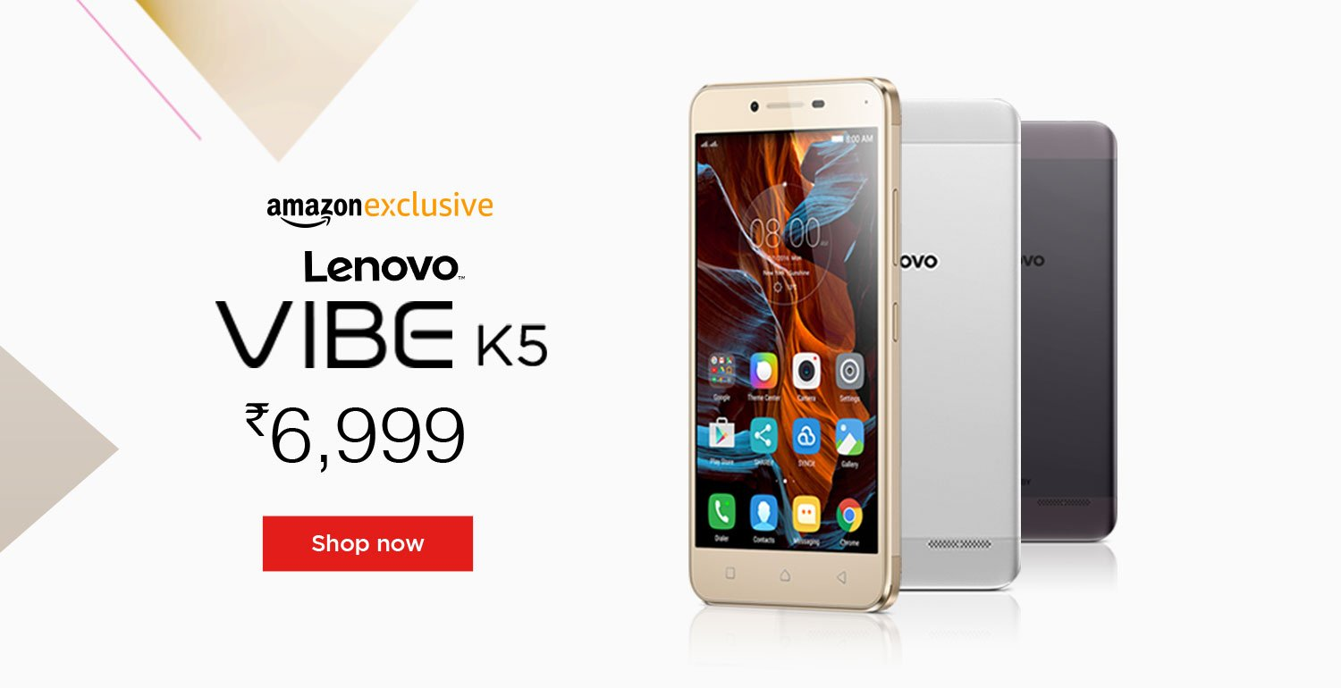 Lenovo VIBE K5: Lenovo VIBE K5 Specifications, Features at