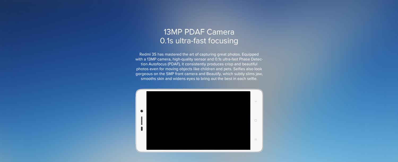13MP PDAF Camera