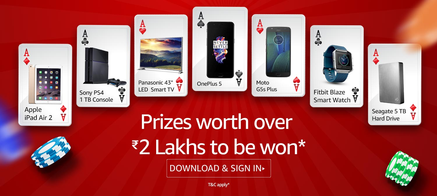 Prizes worth over Rs. 2 Lakhs to be won