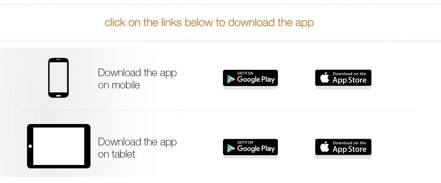 App Download Links