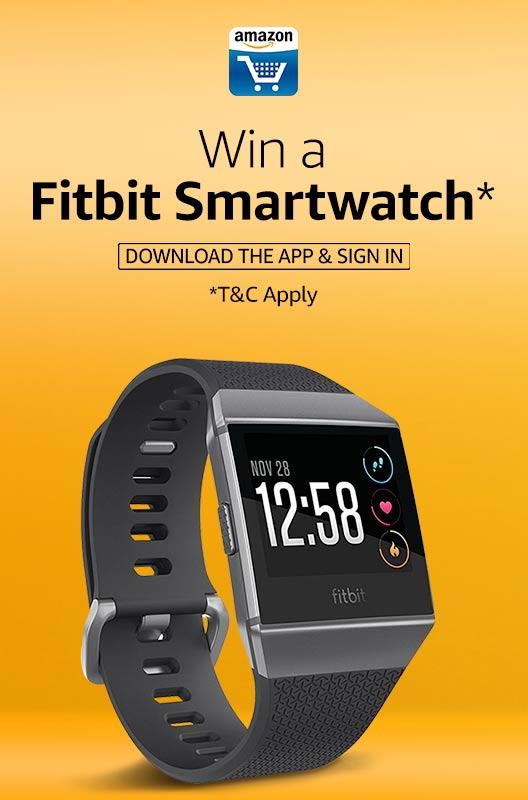 Amazon Fitbit Smartwatch