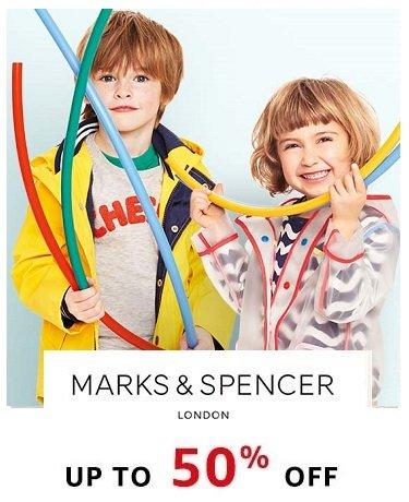 Marks & Spencers: Upto 50% off
