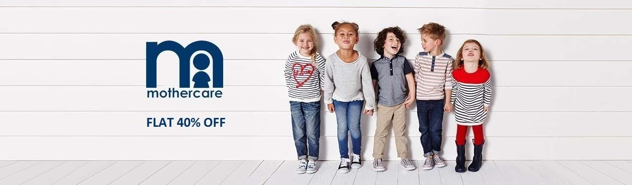 mothercare Flat 40% off