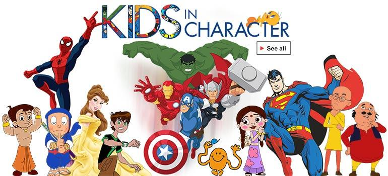 bf43640750 Kids in Character Products: Buy Kids in Character Products Online at ...