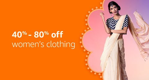 Women's clothing: 40% - 80% off