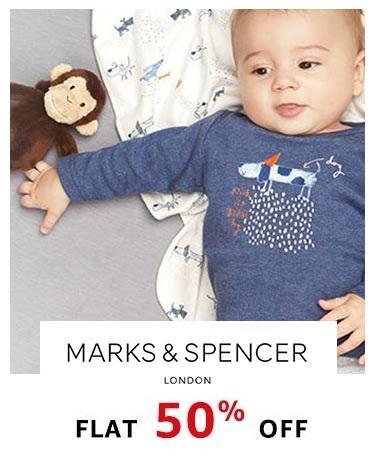 Marks & Spencer flat 50% off!!