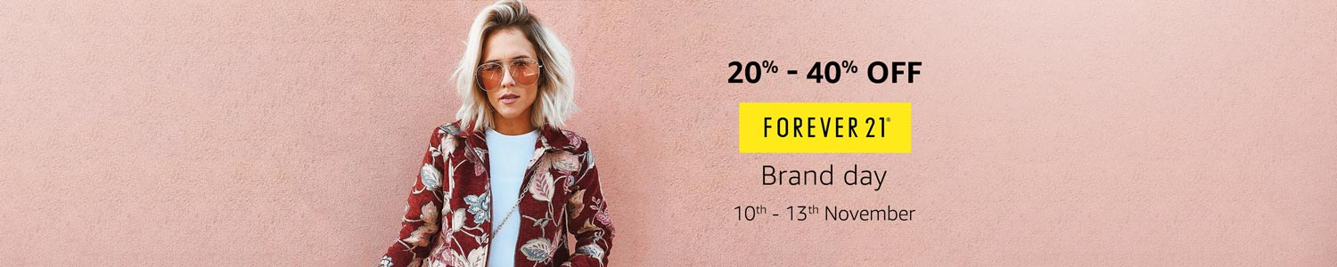 Forever 21 20% - 40% off