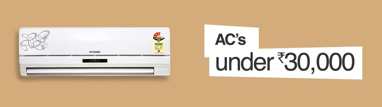 AC under 30,000