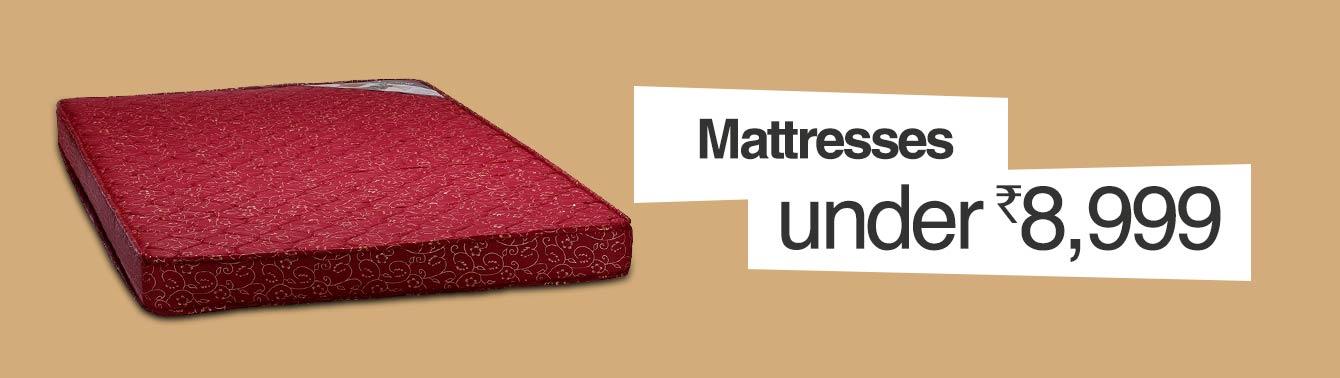 Mattresses under 8,999