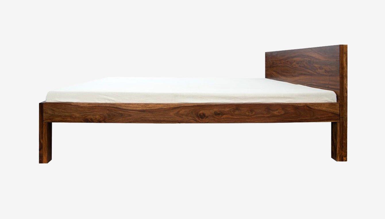 Beds frames bases buy beds frames bases online at for Strong wooden beds
