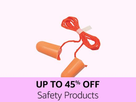 Up to 45% off safety products