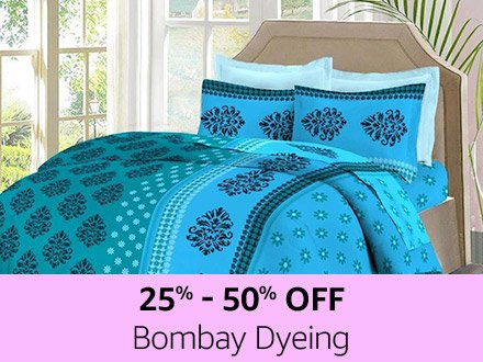 Bombay Dyeing | 25% - 30% off