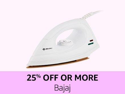 Bajaj | 25% off or more