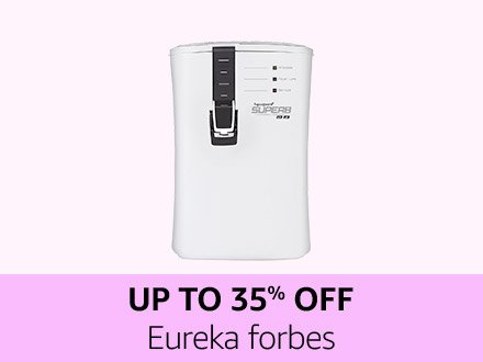 Eureka forbes | Up to 35% off